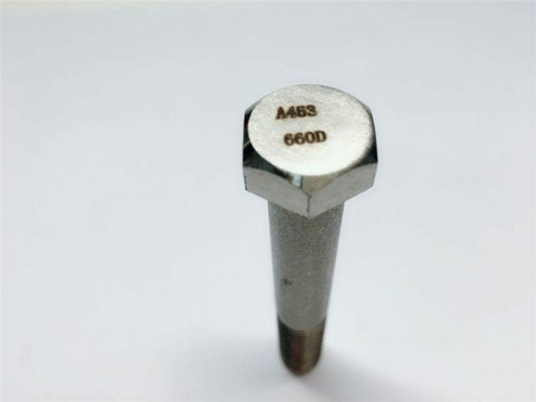 a286 өндөр чанарын бэхэлгээний astm a453 660 en1.4980 тоног төхөөрөмжийн машин шураг бэхэлгээ