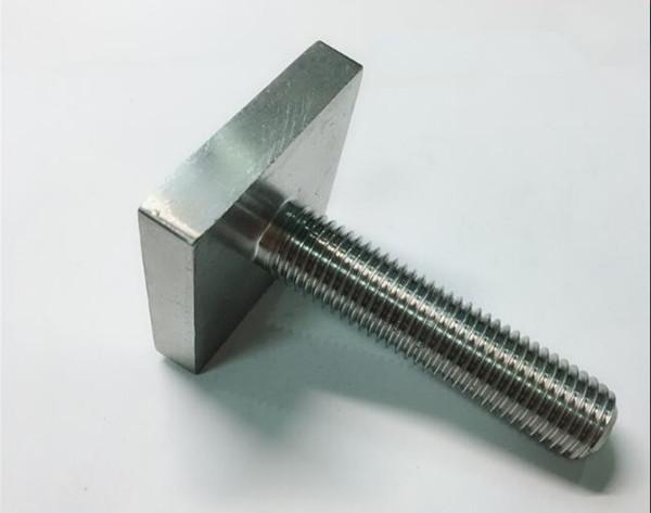 никель хоршоо monel400 хавтгай дөрвөлжин боолт бэхлэгч uns n04400