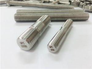 №80-дуплекс 2205 S32205 2507 S32750 1.4410 өндөр чанарын тоног төхөөрөмжийн бэхэлгээ модон урсгалтай саваа зангуу