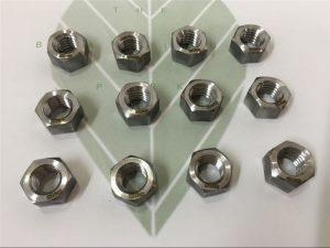 Дуплекс 2205 A182 F51 UNS S31803 EN1.4462 зургаан өнцөгт боолт DIN933 бэхэлгээ