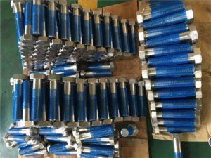 SUS 304L EN1.4306 SS бэхэлгээний зургаан өнцөгт боолт ISO4014 хагас утас