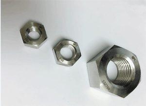 Дуплекс 2205 / F55 / 1.4501 / S32760 зэвэрдэггүй ган бэхэлгээ, хүнд жинтэй гекс самар M20